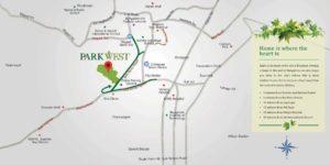 Shapoorji-Parkwest-location