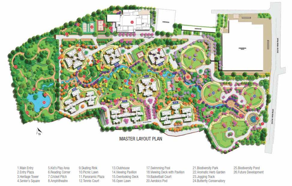 Shapoorji-parkwest-master-layout-plan