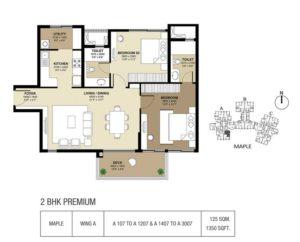 Shapoorji-parkwest-bangalore-floor-plans