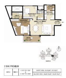 shapoorji-parkwest-east-facing-floor-plan