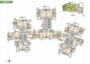 shapoorji-parkwest-maple-layout-plan