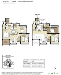 shapoorji-parkwest-magnolia-penthouse-floor-plan