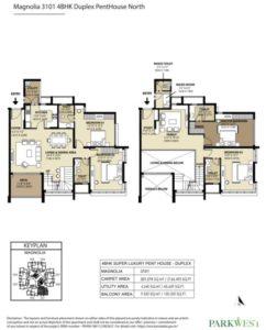 shapoorji-parkwest-magnolia-penthouse-floor-plan