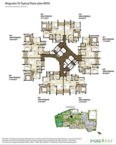 shapoorji-parkwest-magnolia-tower-plan